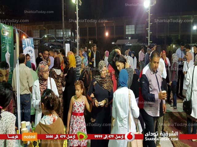 صورة الاتحاد المصري لطلاب الصيدلة بجامعة الزقازيق ينظم يوم صحي بنادي الشرقية