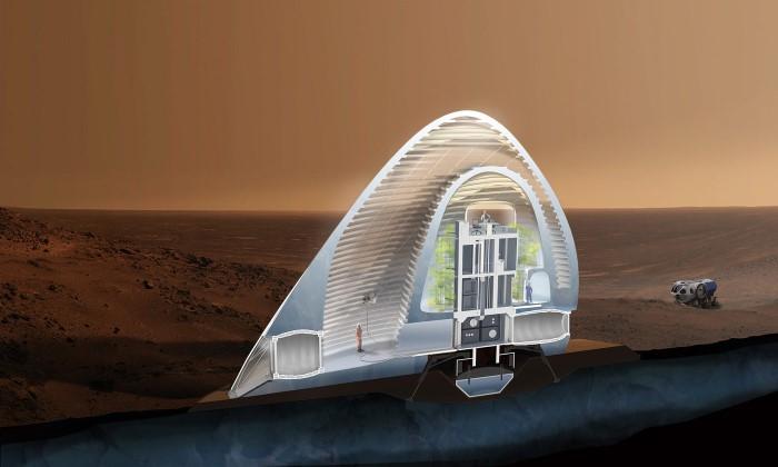 صورة بالصور.. جولة داخل أول منازل سيسكنها البشر على المريخ