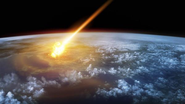 صورة جسم فضائي صدم الأرض وساعد في ظهور البشر