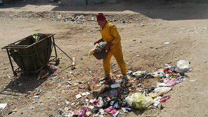 صورة حملة نظافة مكبرة فى حى مبارك بمدنية الزقازيق
