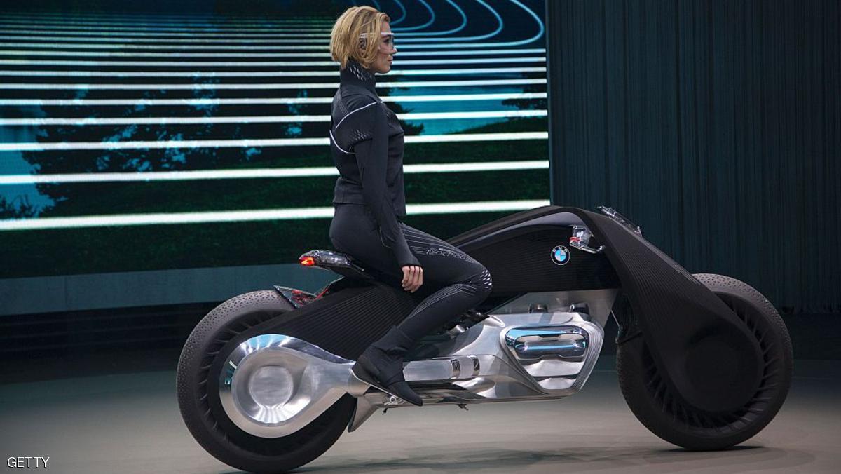 صورة دراجة ذكية من بي إم دبليو