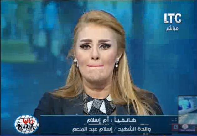 صورة بالفيديو.. رانيا محمود ياسين تبكي على الهواء وتعتذر