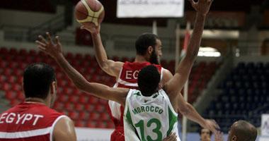صورة منتخب مصر لكرة السلة في الصين من أجل مونديال