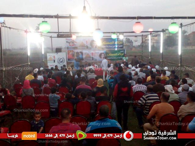 صورة «أبدًا لن تسقط مصر» مؤتمر للقوى السياسية بفاقوس