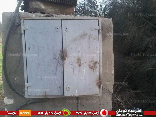 قرية «الشناينة» بفاقوس يطالبون بتغير محول الكهرباء
