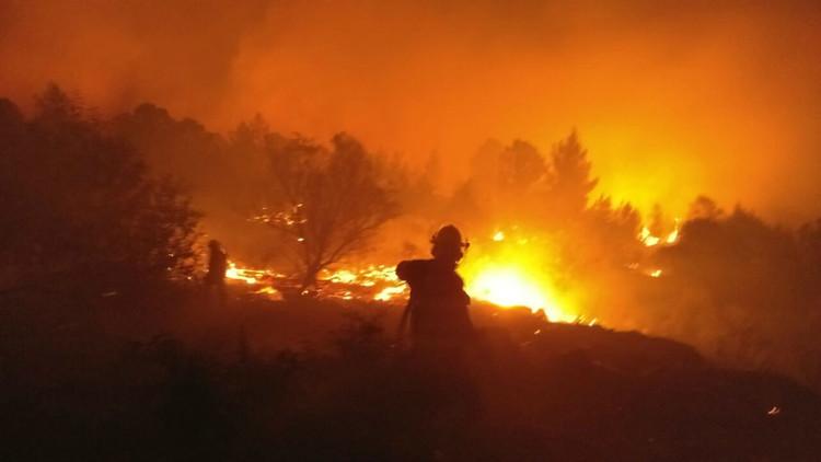 صورة إسرائيل تحترق.. تل أبيب تطلب المساعدة من تركيا واليونان وإيطاليا وقبرص