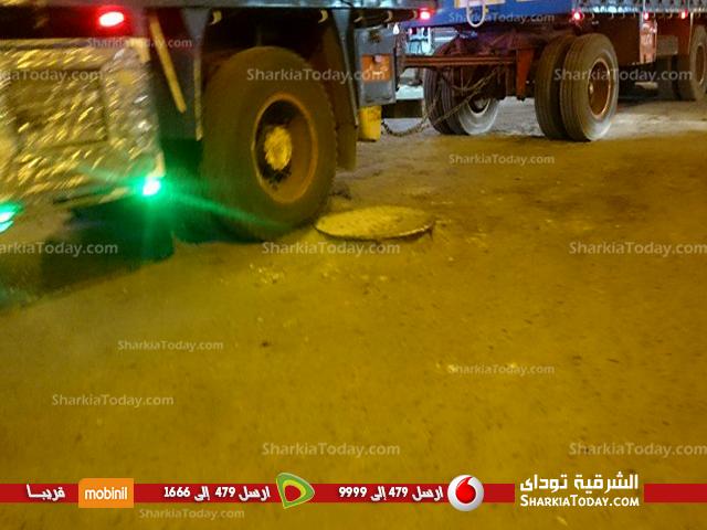 صورة الإهمال يجتاح أهم الطرق بمركز كفر صقر