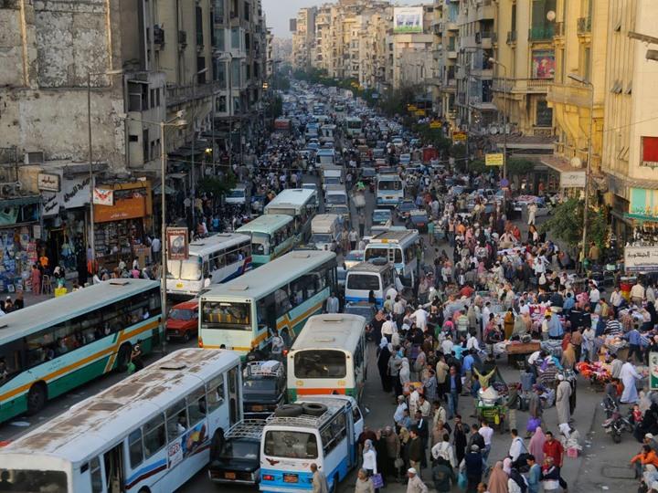 السكانية في مصر