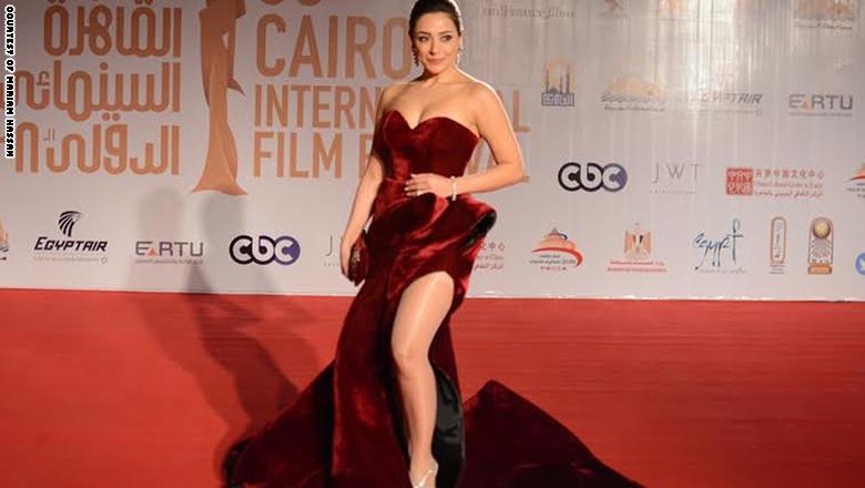 صورة الممثلة اللبنانية مريم حسن: لم أتوقع ما حدث في مهرجان القاهرة بسبب فستاني