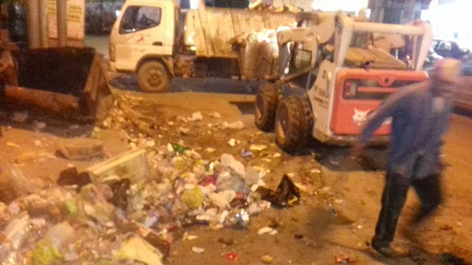 صورة استمرار حملات النظافة بشوارع الزقازيق