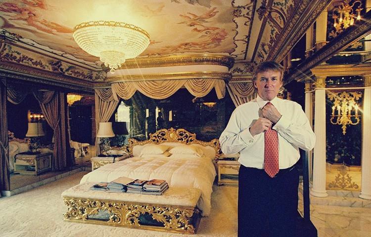 صورة بالصور.. جولة داخل منزل الرئيس الأمريكي «ترامب» واستراحة تقدر ثمنها بـ 100 مليون دولار