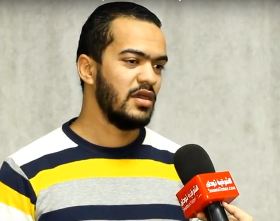 صورة شاب شرقاوي يعلن عن مكافأة 1000 جنيه للاعب الذي يحرز هدف الفوز فى الأهلي