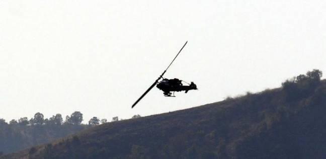 صورة تحطم طائرة روسية في البحر المتوسط