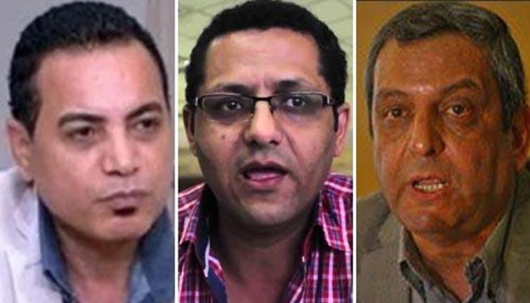 صورة حبس نقيب الصحفيين و«البلشي» و«عبدالرحيم» سنتين مع الشغل