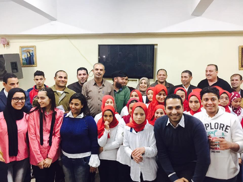 صورة مسابقة الطلائع فى الكورال بين مركز شباب الزقازيق والإبراهيمية