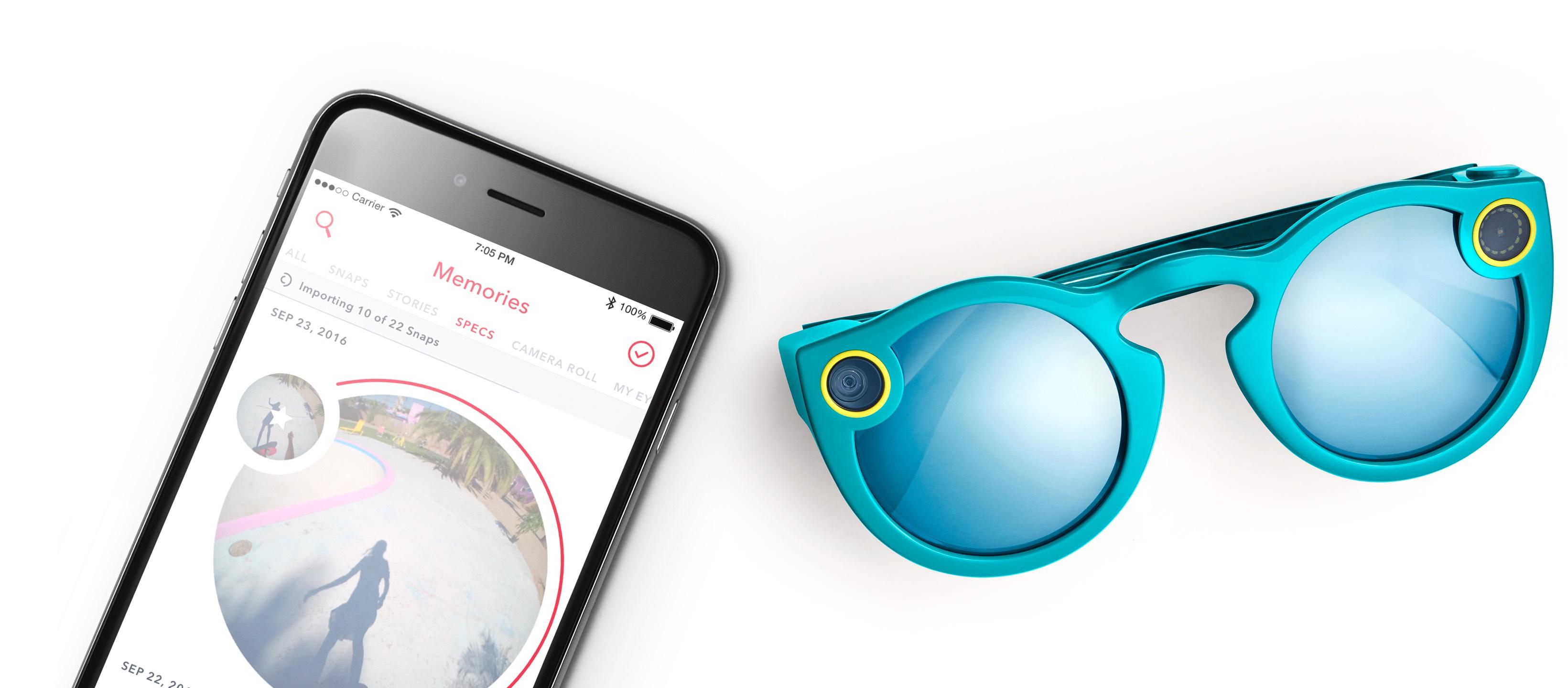 صورة سناب شات تستعد لإطلاق نظارات تعمل بخاصية الـ Wifi