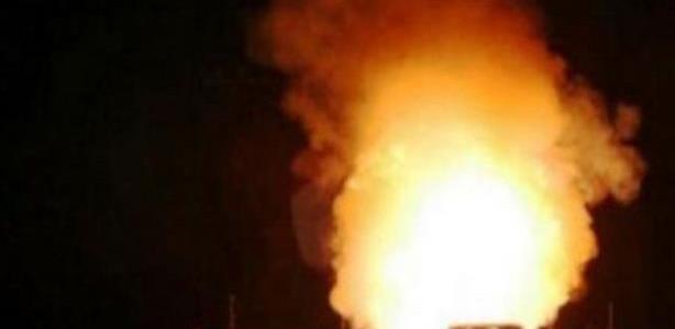 صورة انفجار «قنبلة» بمحيط محكمة أبوكبير