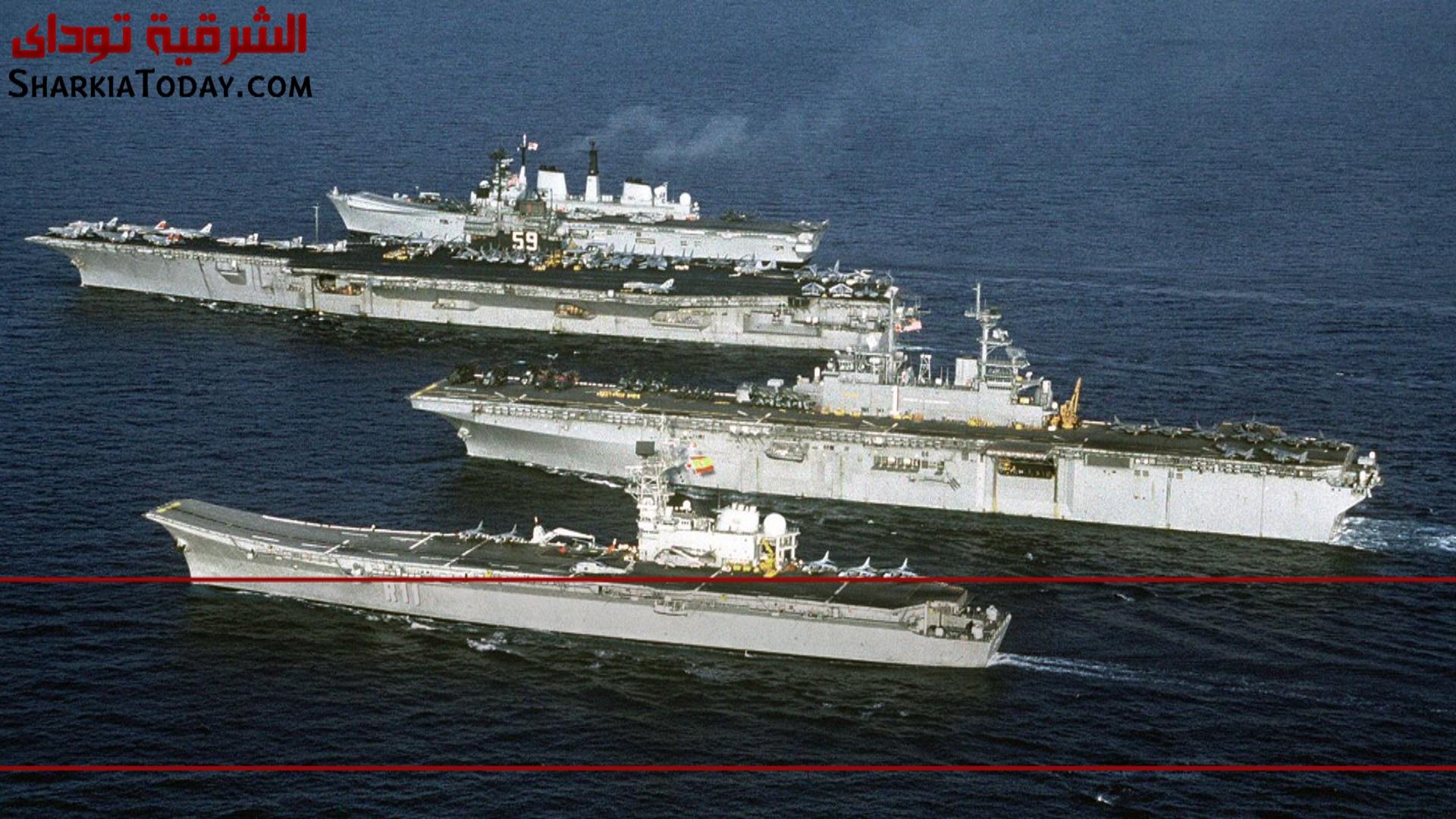 صورة بالفيديو .. أقوى 10 قوات بحرية بالعالم لعام 2016