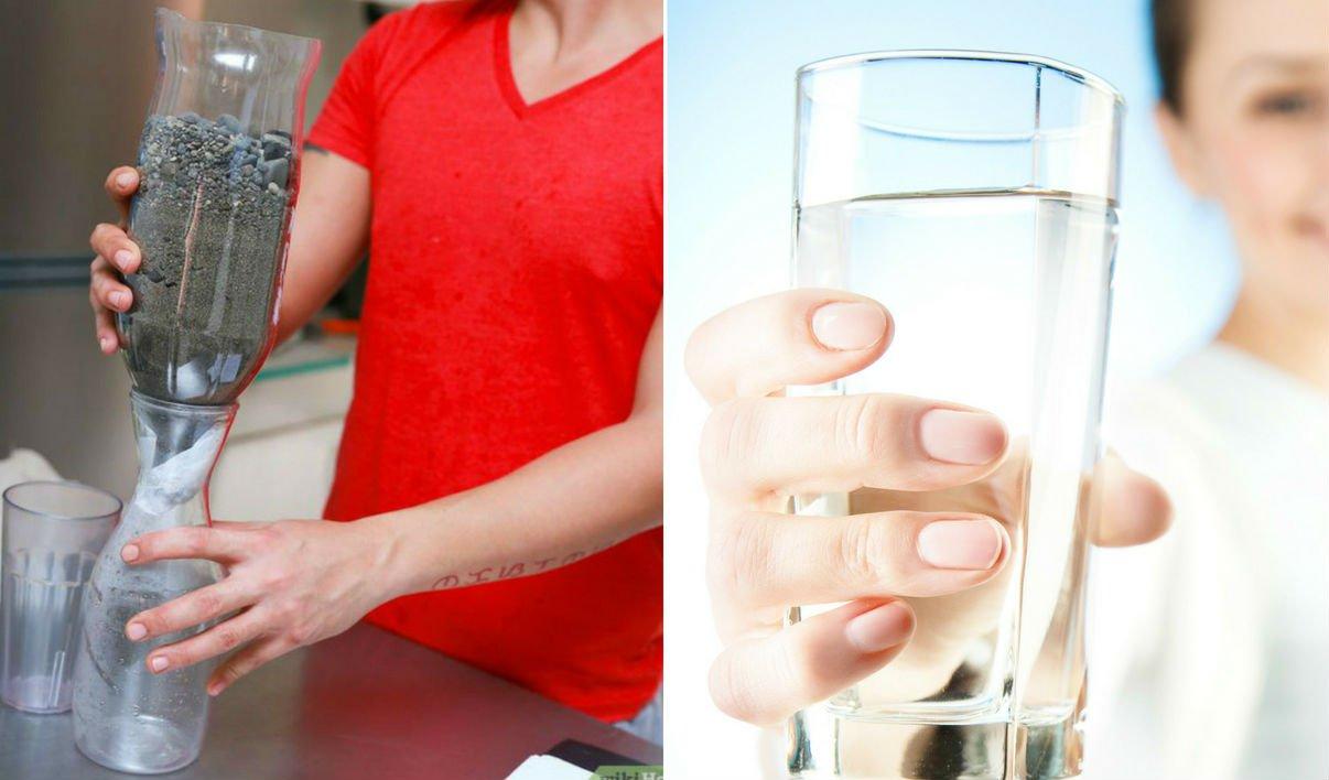 صورة اصنع فلتر للمياه بمنزلك بنفسك