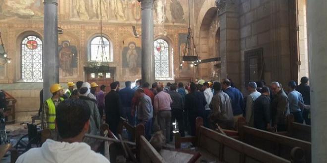 صورة ارتفاع عدد ضحايا تفجير الكنيسة البطرسية