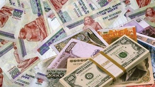 صورة ارتفاع أسعار العملات الأجنبية أمام الجنيه المصري