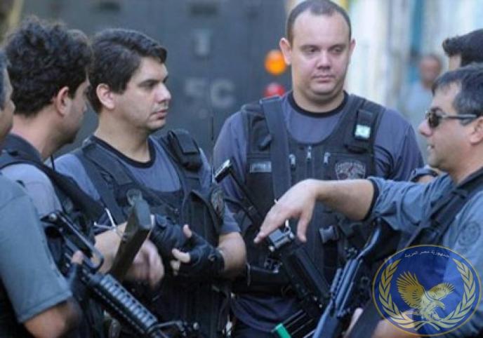 صورة اعتقال زوجة السفير اليوناني وعشيقها بالبرازيل