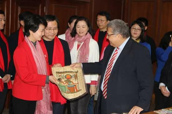 صورة وزير التعليم العالى يوطد العلاقات المصرية الصينية