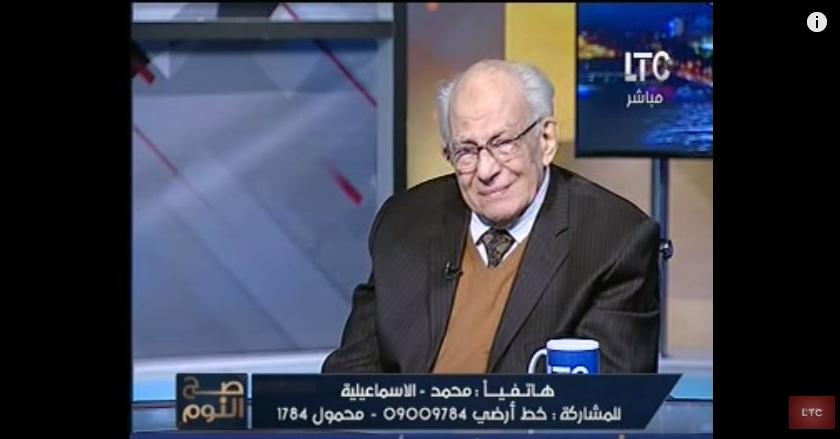 صورة بالفيديو.. بكاء توفيق رشوان على الهواء