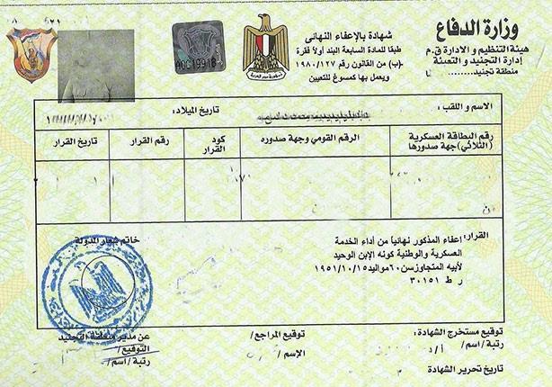 صورة شاب مسيحي يكتشف بعد إعفائه من الجيش بوجود شقيق له باسم محمد