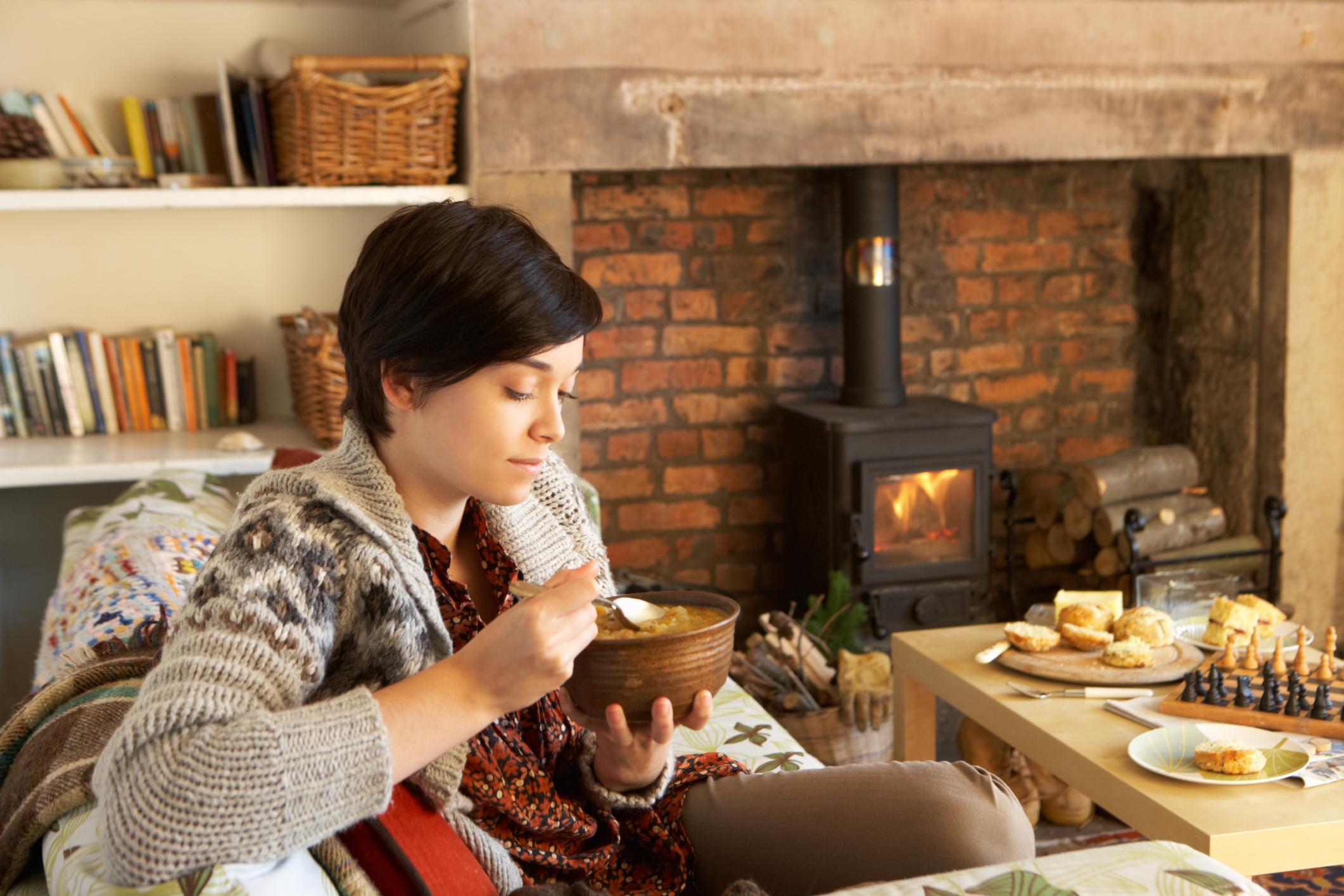 صورة أطعمة غذائية تجلب لك الدفء في فصل الشتاء