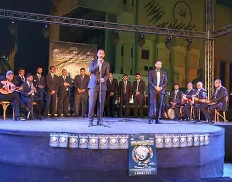 الشرقية للإنشاد الديني تشارك في احتفالات المولد النبوي ببورسعيد