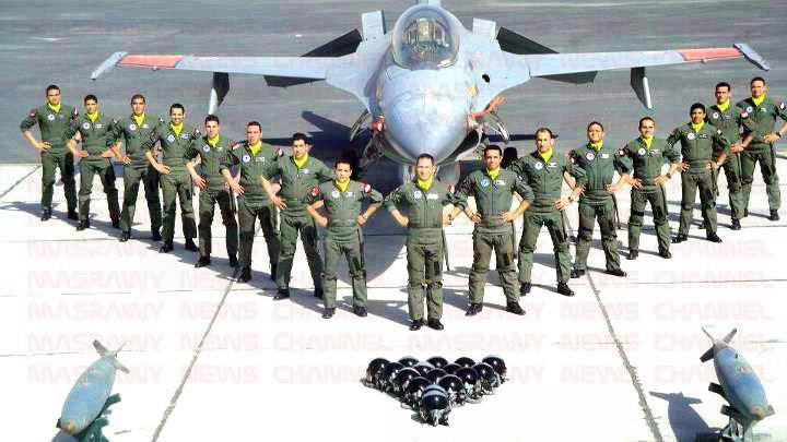 صورة تعرف علي ترتيب القوات الجوية المصرية عالميًا