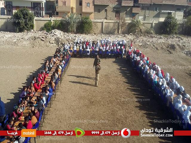 صورة مدير تعليم أبوكبير يلقي ندوة عن «نبذ العنف» بمدرسة الدهتمون