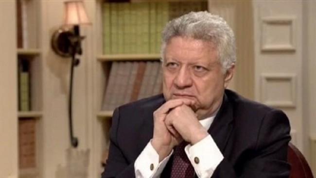 صورة تاجيل  دعوى منع ظهور مرتضى منصور فى الإعلام