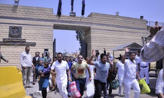 صورة مصلحة السجون تعلن خروج 70 سجينا بالعفو و84 بالإفراج الشرطى