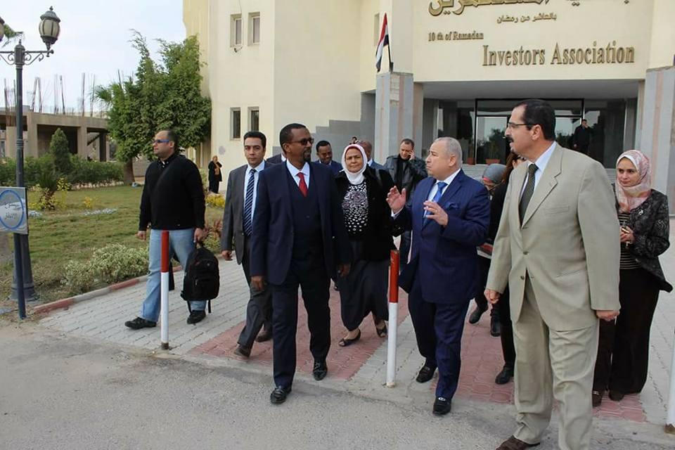 الصناعة الصومالى إقامة معرض دائم للمنتجات المصرية1