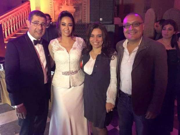 صورة تفاصيل حفل زفاف داليا البحيري