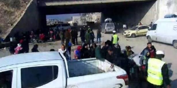 صورة بالفيديو..خروج 8 آلاف مدني من المحاصرين في حلب الشرقية