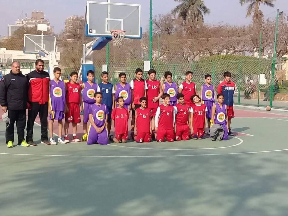 صورة سلة الشرقية تشارك في مهرجان منطقة الجيزة لكرة السلة