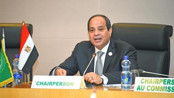صورة السيسي يجدد التزام مصر بدفع مبادرتي التكيف والطاقة بالأمم المتحدة وباريس