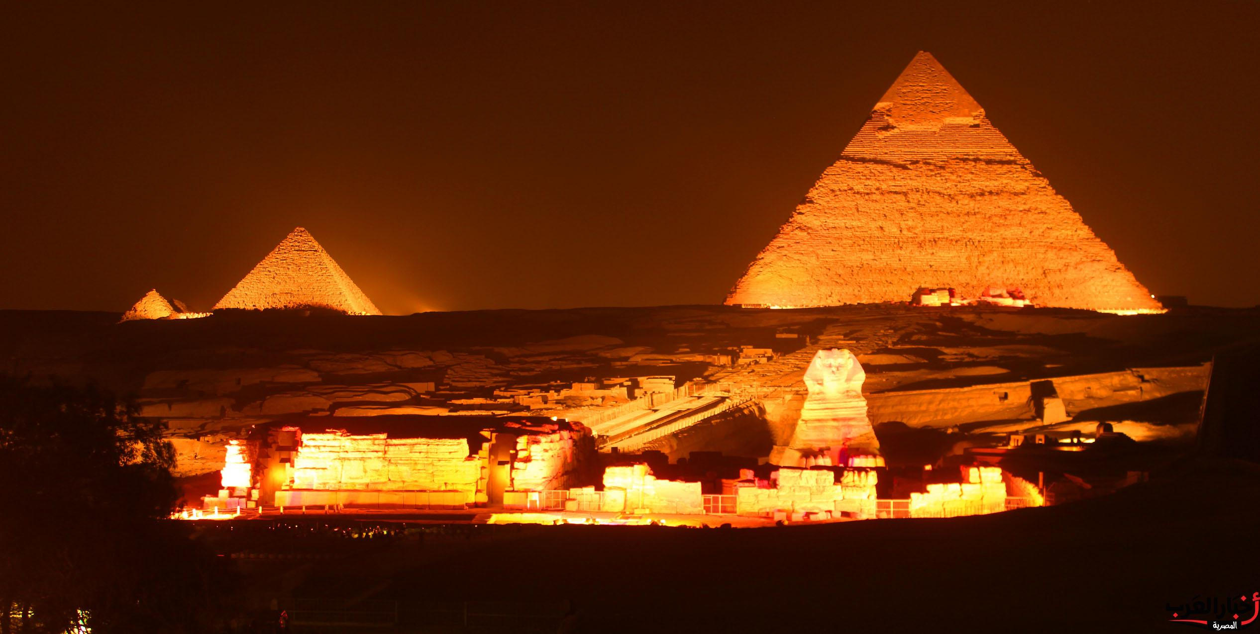 صورة اهرامات مصر تحمي روسيا من الهجوم الصاروخي