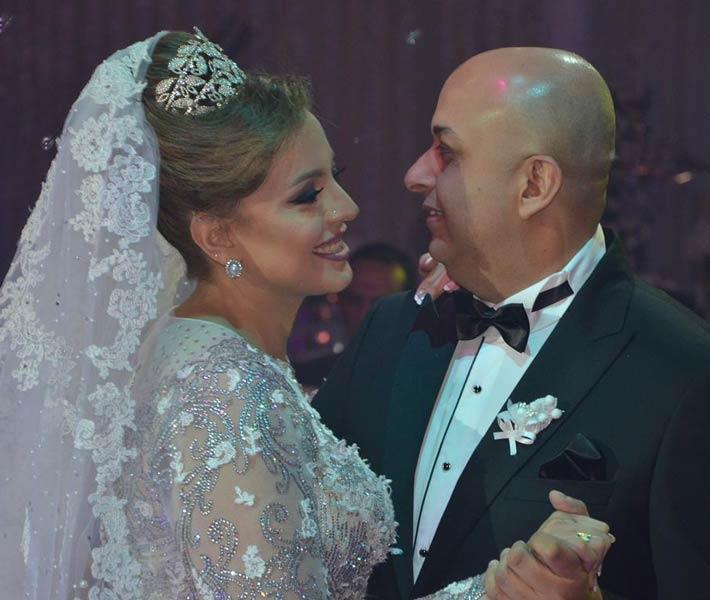 صورة بالصور.. نجوم الفن والرياضة يتألقون في زفاف شقيق صابرين