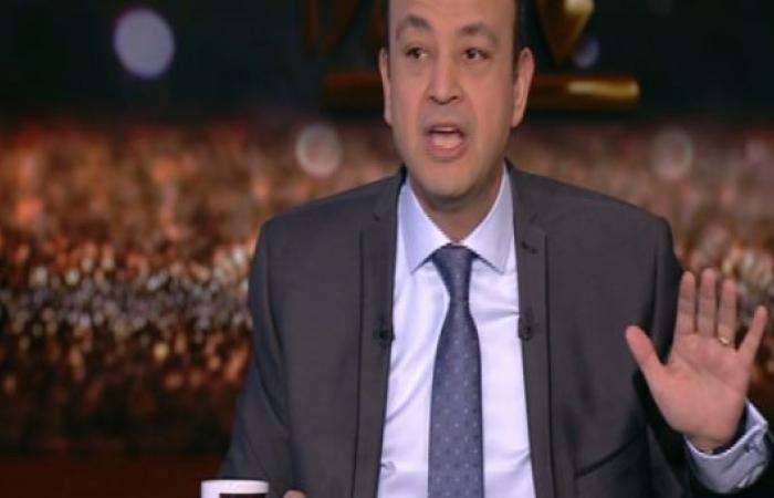 صورة بالفيديو.. عمرو أديب لياسر رزق: «بعد التعب ده كله.. الريس غداكم طعمية؟»