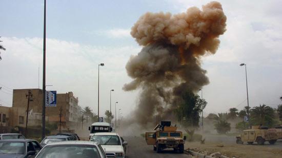 .. التليفزيون المصري يعرض لقطات جديدة للحادث الإرهابي بكمين المطافئ