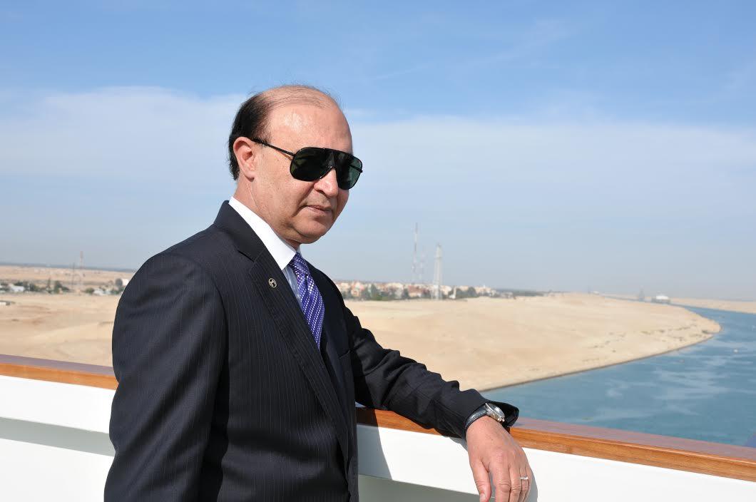 صورة تجديد تعيين مميش رئيسًا لقناة السويس لمدة عام