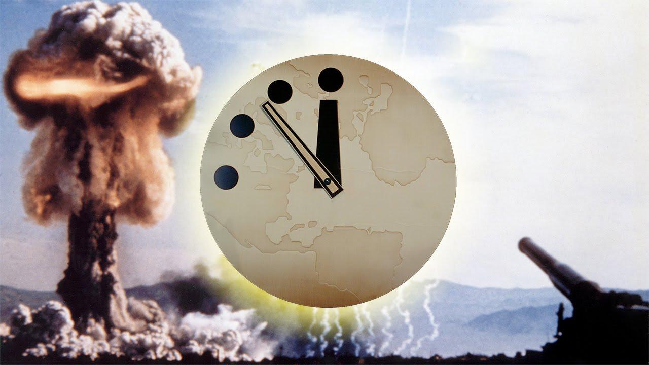 صورة علماء نهاية العالم يقدّمون عقارب ساعة القيامة 30 ثانية
