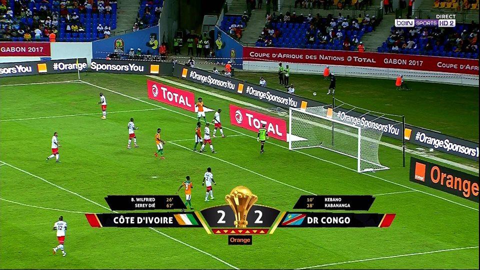 صورة كوت ديفوار يتعادل مع الكونغو في البطولة الإفريقية