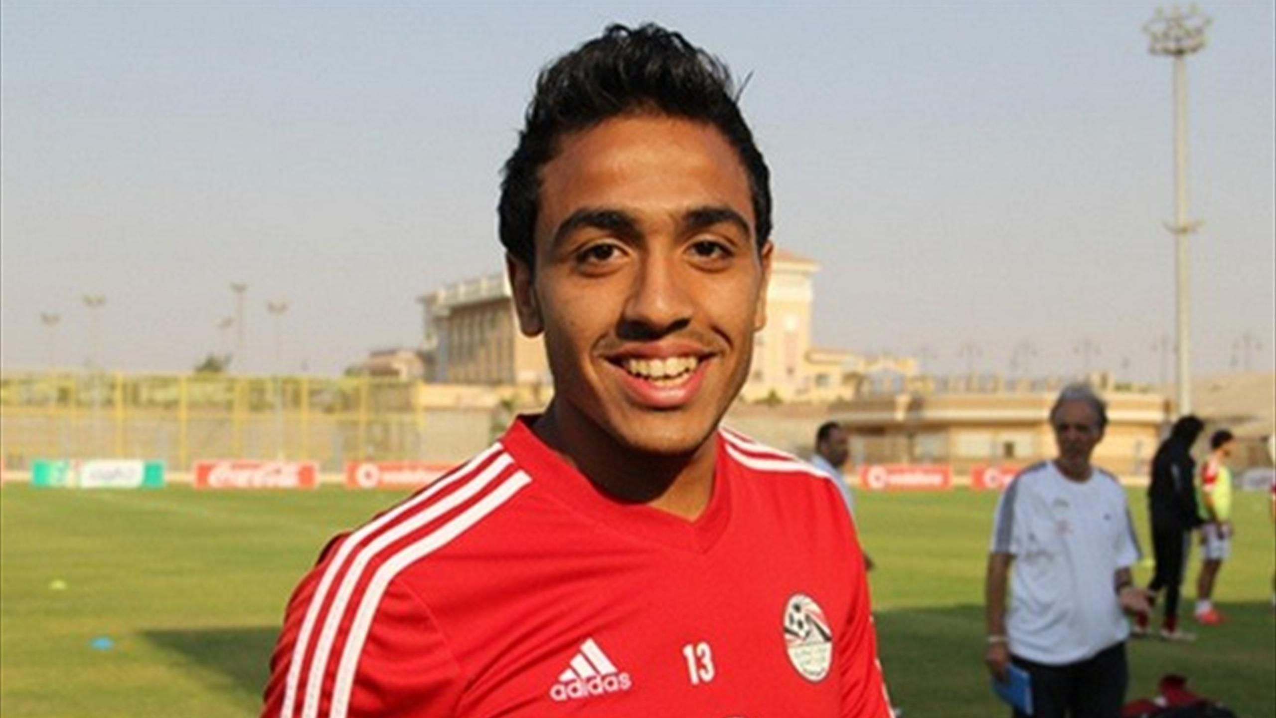 صورة بالفيديو .. كهربا يكشف سر بكائه بعد إحرازه الهدف فى المغرب