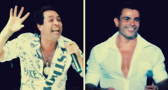 صورة بالفيديو.. أغنية لـ «عمرو دياب» كان من المفترض أن يغنيها حكيم: تم تغيير اللحن