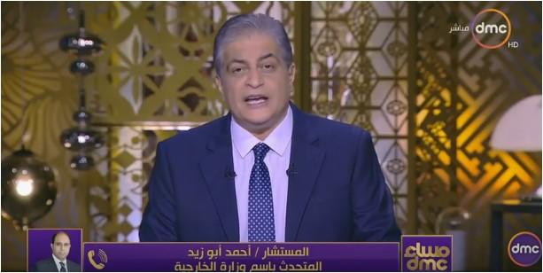 صورة بالفيديو..«المتحدث بإسم الخارجية»:سيناء مصرية وليست وطن للفلسطينيين
